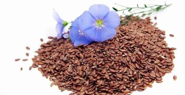 Семена гвоздики и льна