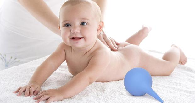 Промываем кишечник ребенку